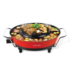 BBQ Grill with Hot Pot